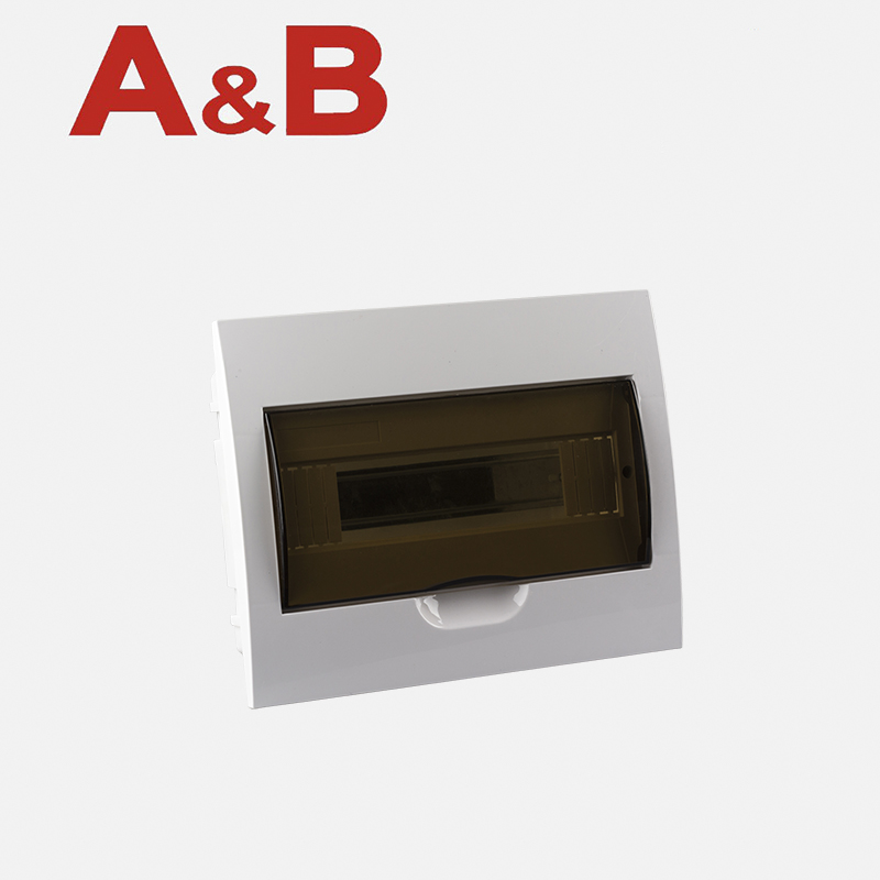 Switchboard with transparent door recessed mounted IP40