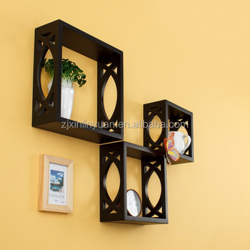 Most Popular Home Goods Set3 Mdf Carved Wood Craft Wall ...
