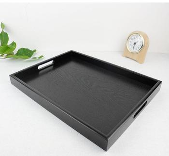 Custom Factory Natural Breakfast Serving Wooden Tray