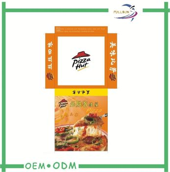 Dongguan foldable paper pizza box (FS1107)
