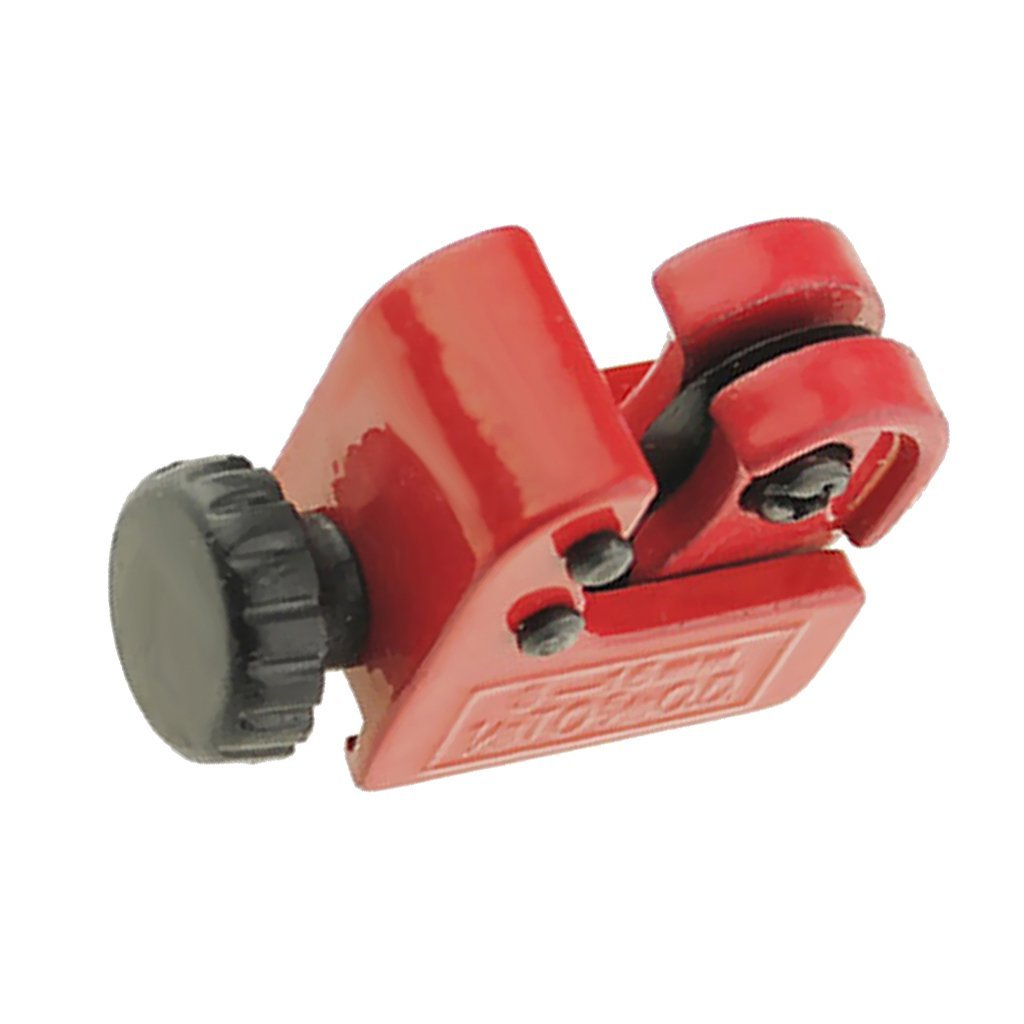 Flameer Red Pipe Cutter Mini 3-16mm Copper Tube Cutting Brass Tubes Slicer Zinc Alloy Practical Tool