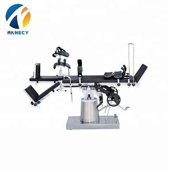 AC-OT016 Multifunctional Manual Hydraulic Operating Table, Surgical Operation Table parts