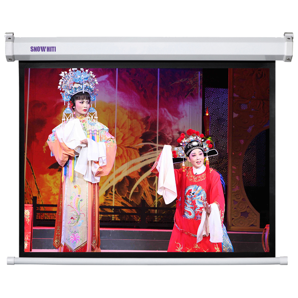 120inch 16:9 Luxurious Electric Projection Screen