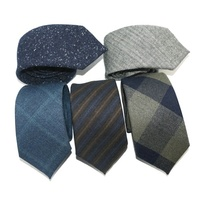Latest Fashion 100% Cotton Tie Custom Tie Men Manufactures