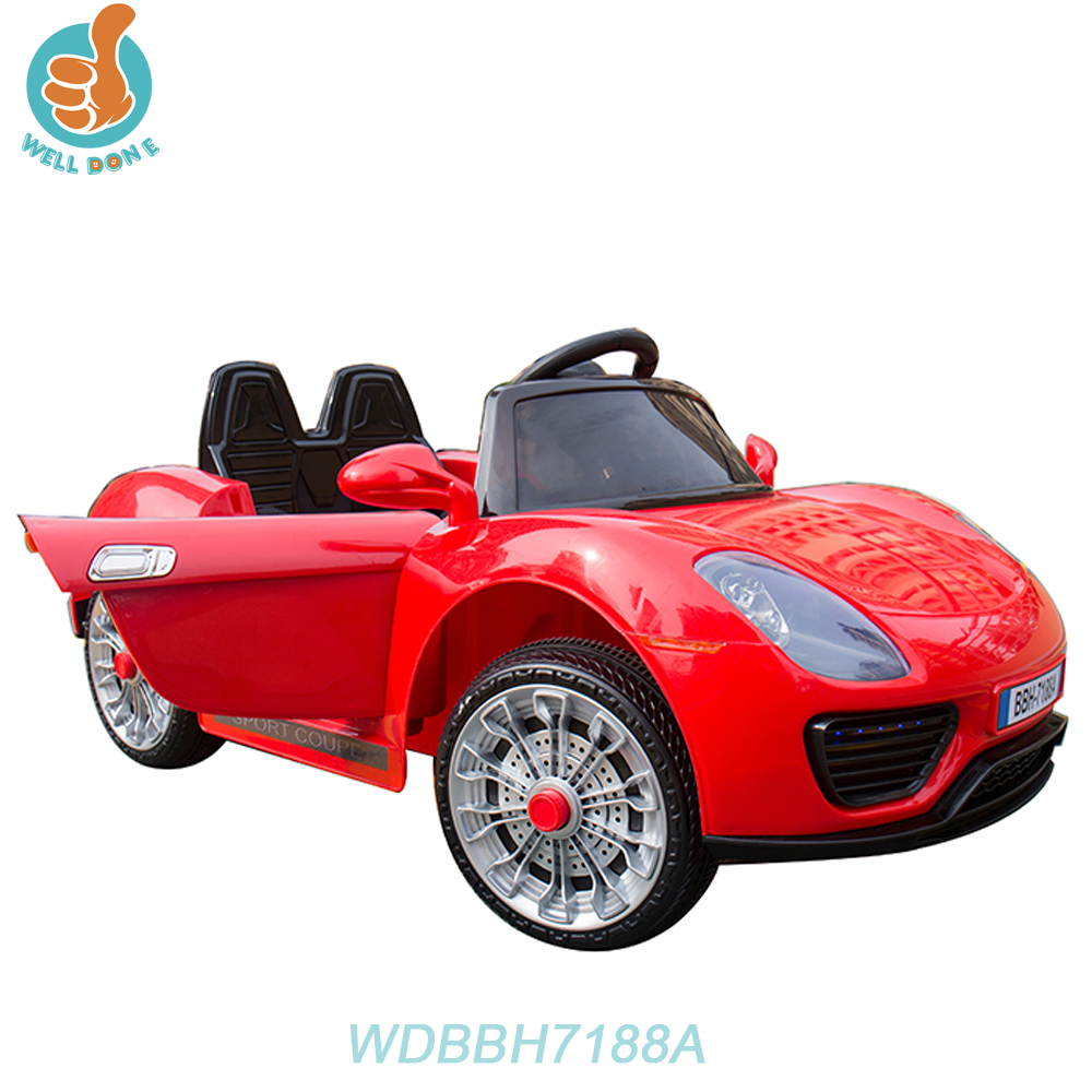 WDBBH7188A High Quality Build A Childs Electric Car For Game With Four Wheel Suspension
