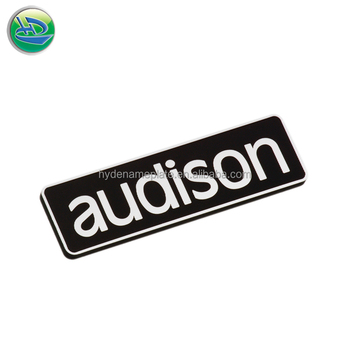Custom Metal Name Badge Embossed Nameplate Maker - Buy Metal Name  Badge,Embossed Nameplate,Custom Nameplate Maker Product on Alibaba com