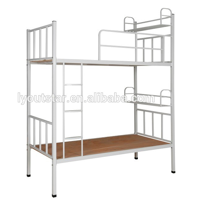 High quality Staff / students dormitory Steel bunk bed