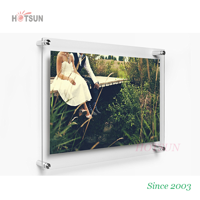 Photo Certification Frame Wall Frame Album Display Picture Magnetic Holder A4 A5