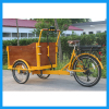 Children Transport Front Loading Three Wheel Electric Cargo Tricycle for Sale