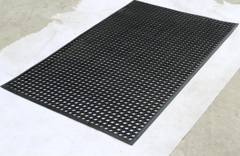 tapered-beveled edges rubber kitchen mat, tapered-beveled edges