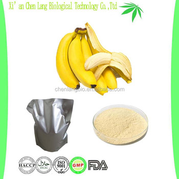Natural Juice Powder Good Soluble in Water Light Yellow Banana Powder