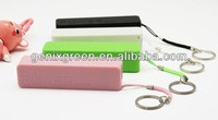 Nice surface and good handle 5400mah portable power bank for smart phones