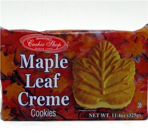 Buy Maple Leaf Cookies One 11 4 Oz Package In Cheap Price