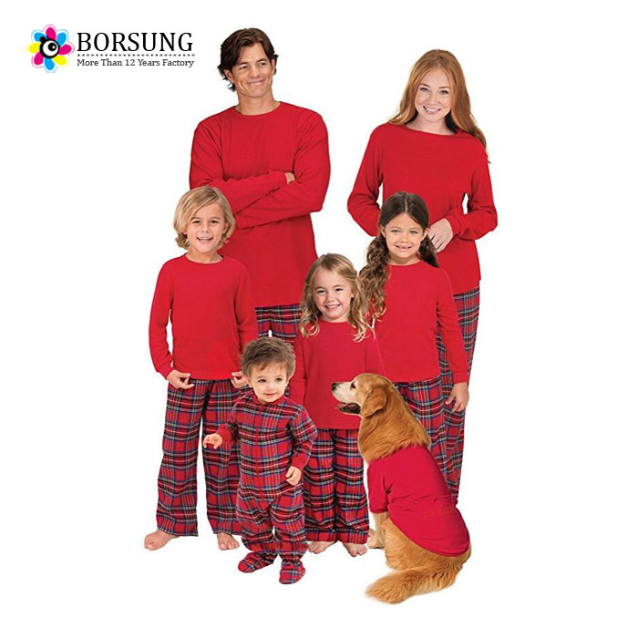 b7d85b947d Family clothes set 2017 toddler boy red outfits winter family sleepwear  chinese supplier christmas pajamas