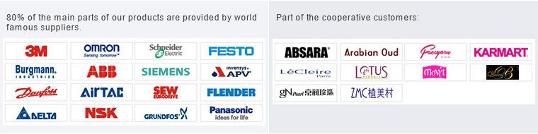 Di alta qualità cinese pieno aerosol Automatico può macchina di rifornimento aerosol di piegatura macchina deodorante