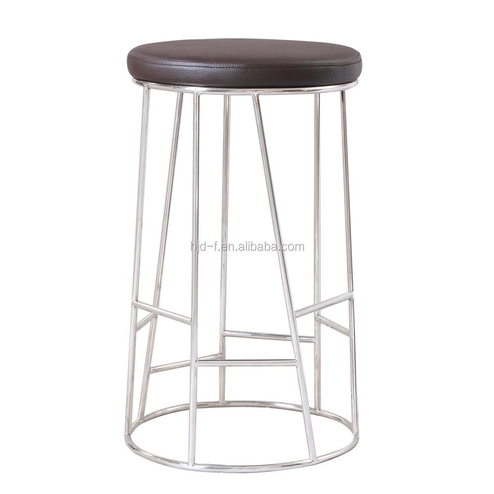 Kursi bulat bar stool stainless steel bar kursi