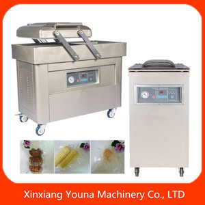 food bag vacuum packing machine for meat/rice/fish/chicken/seed