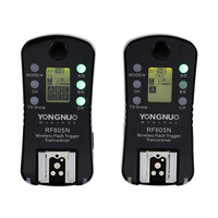 Flash Trigger Wireless Shutter Release RF-605 For Canon Nikon Digital Cameras