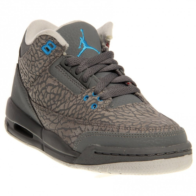 ecf4bd929890a6 Buy Girls Air Jordan 3 Retro Big Kids Sneakers Black Atomic Red ...