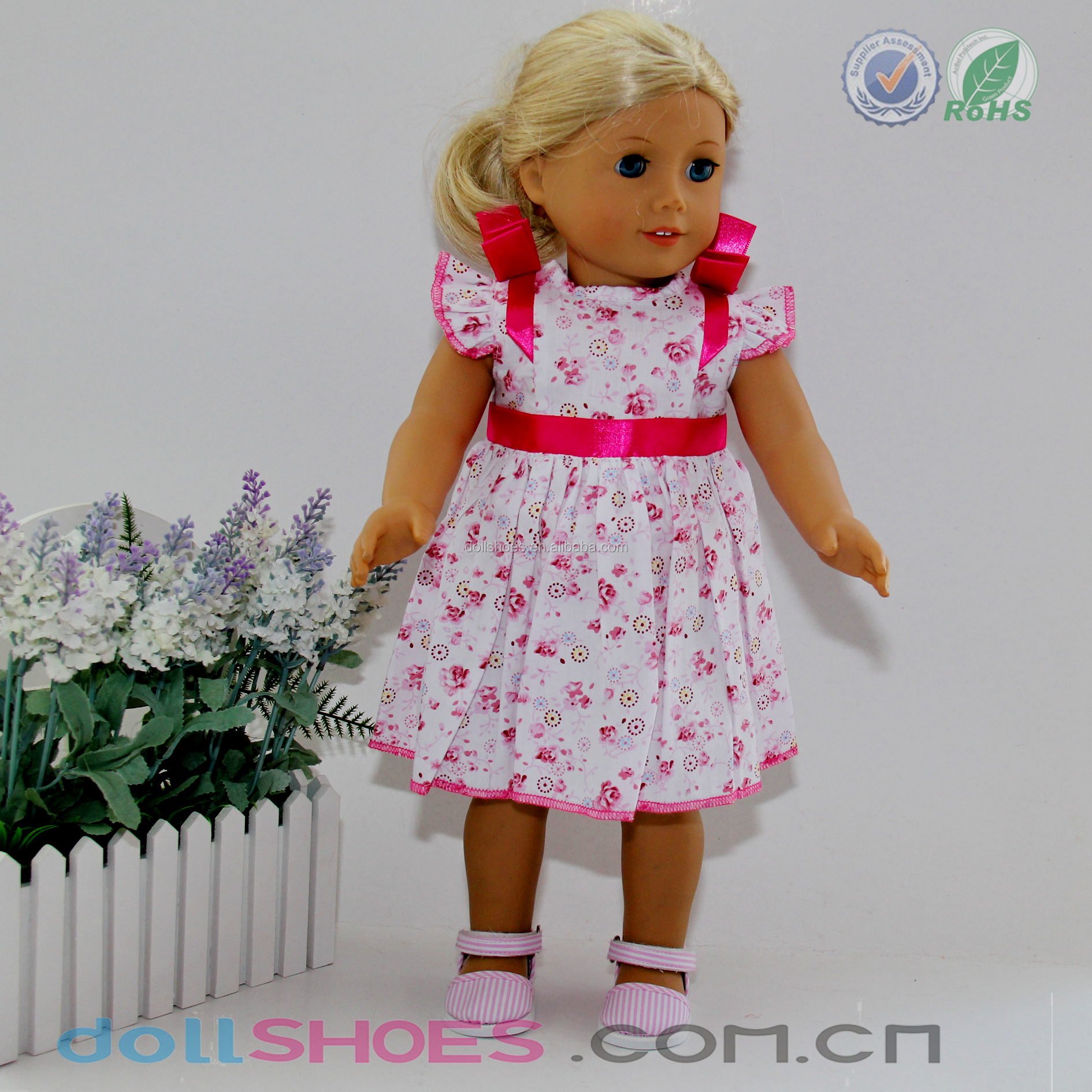 387cf4b17d5 Sunny Summer 18 Inch Amerian Girl Doll Dress - Buy American Gril ...