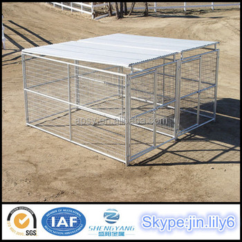 Large Dog Run With Gate Zoo Welded Mesh Panels For Animals - Buy ...