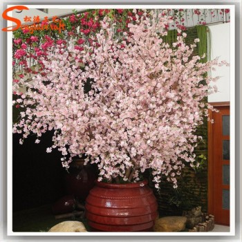 Factory Wholesale Cherry Blossom Bonsai Tree Decorate The Living Room  Cherry Tree Types Garden Fake Cherry