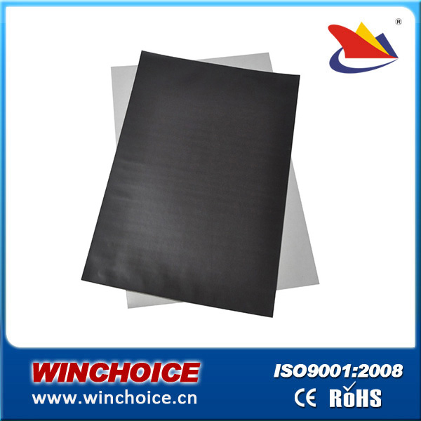 Flexible Rubber Coated Self Adhesive Magnet A4 Thickness 0.4 Mm