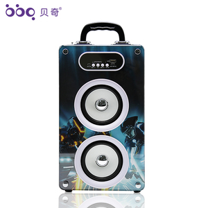 Remote control LED lights switch creative bluetooth speaker volume control