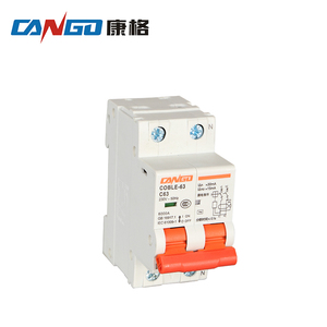 IEC60898 Attestation DZ47-63 Series AC Circuit Breaker Electric MCB Size