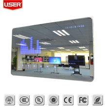 42 inch wall mounting Interactive LCD Advertising display with Magic Mirror Motion Sensor