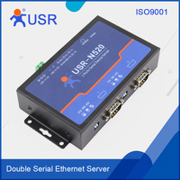 USR-N520 Serial Ethernet Converter RS232 RS485 RS422 Interface Support Modbus RTU to Modbus TCP