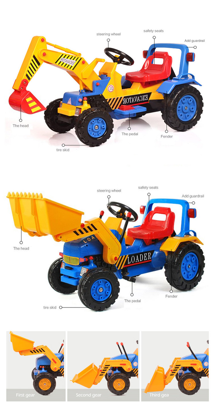 china cheap price electric 4 wheels children forklift kids