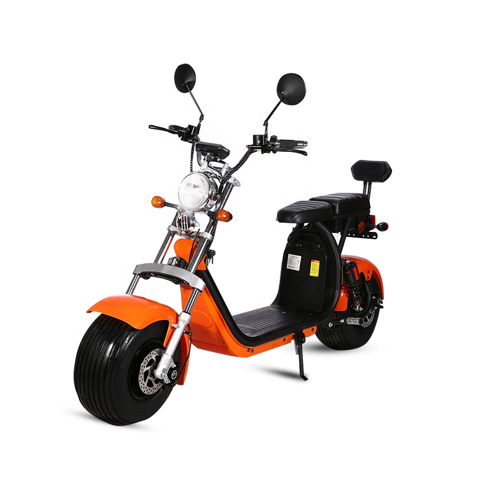 Europe warehouse EEC/COC/CECitycoco Brushless electric fat bike with removable battery for europe, Black