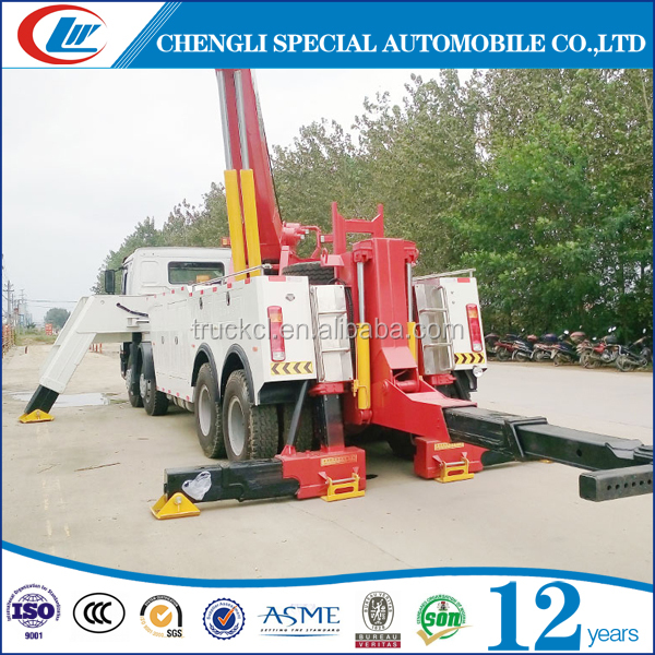 Factory make 10ton towing truck 350hp 15ton road rescue truck for cars