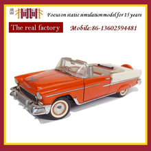 Metal scale model die car kits for adults
