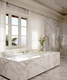 White Marble Arabescato Corchia Decorating Floor and Wall