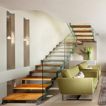 Sawtooth Double Stair Stinger Design With Composite Stair Tread