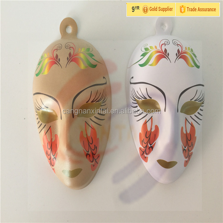 Masquerade Party Childern Funny Custom Plastic Mask