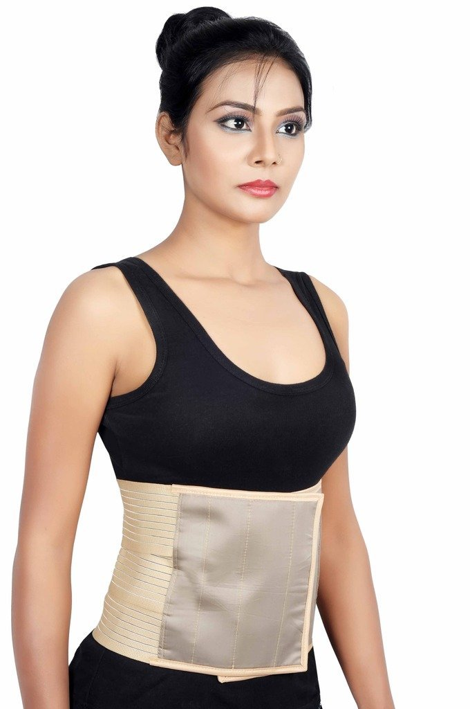 f6fc46d0ec3 Get Quotations · Wonder Care- Abdominal Belt binder after C-Section  delivery for women slim Support Elastic