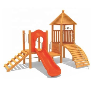 2018 New individually customised wood small toddler park