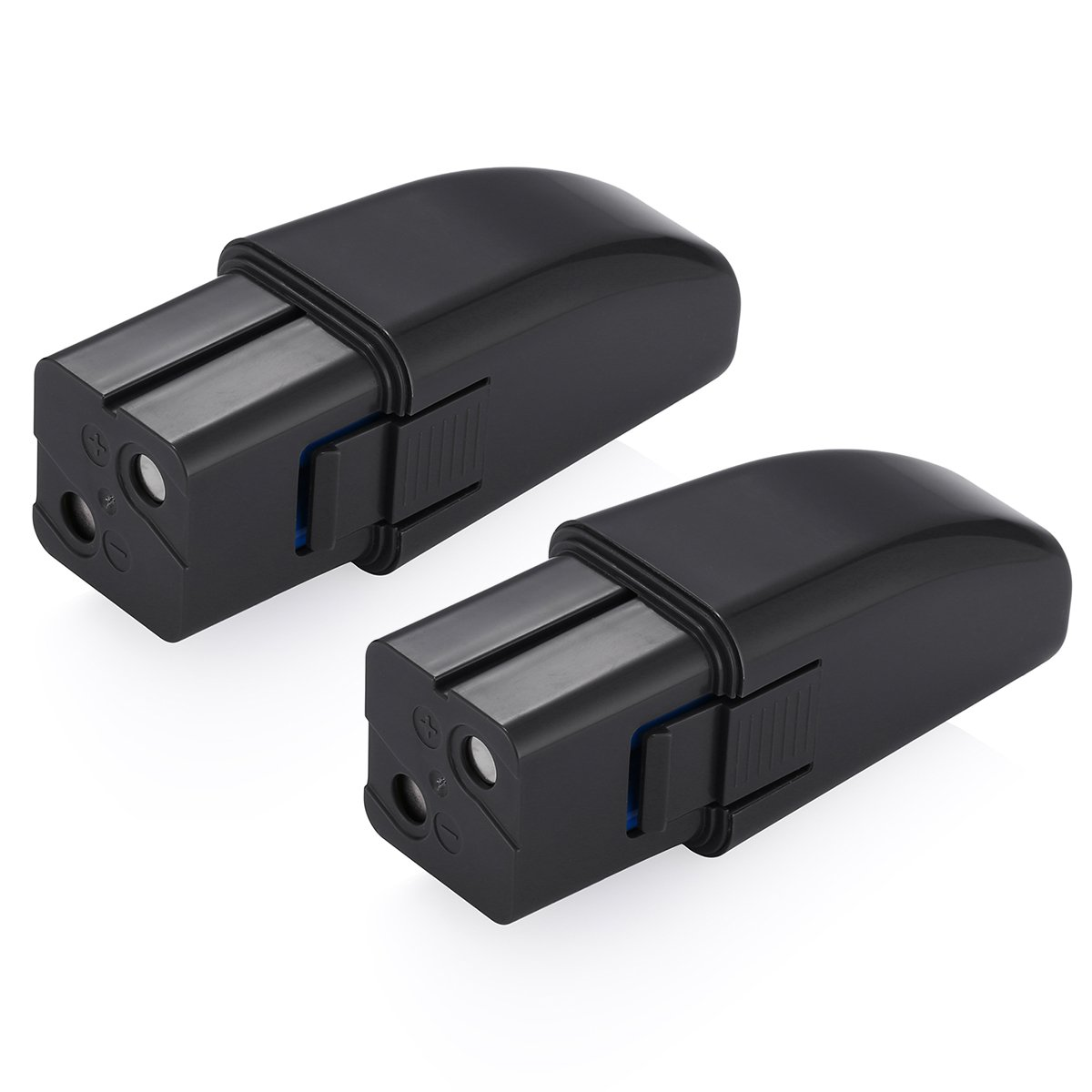 Powerextra 2 Pack 7.2V 2000mAh Ni-MH Replacement Battery for Ontel Swivel Sweeper G1 & G2