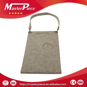Alibaba Express Applique Laser Cut Felt Wine Bag