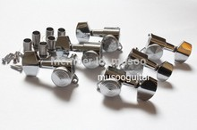3L3R Chrome Locked String Guitar Tuning Pegs keys Tuners Machine Heads for ST TL Tl Style Electric Guitar