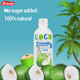 Houssy high quality bottled fresh coconut water