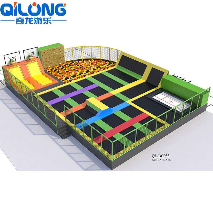 China manufacturer supplier new item indoor super trampoline park