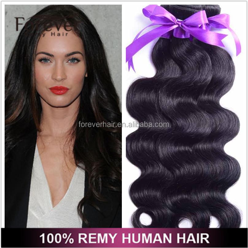 Wholesale Double Drawn Very Thick Silky Straight Russian Remy Hair Weaving  100 human braiding hair c70b47edb