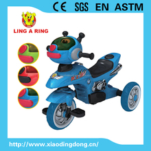 Motorcycles style baby tricycle with music and light High quality popular baby trike Tricycle for kid's