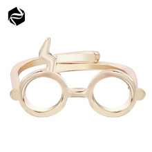 2018 Fashion Harry Glasses Blitz Gold Silver Black Porter Sign Ring
