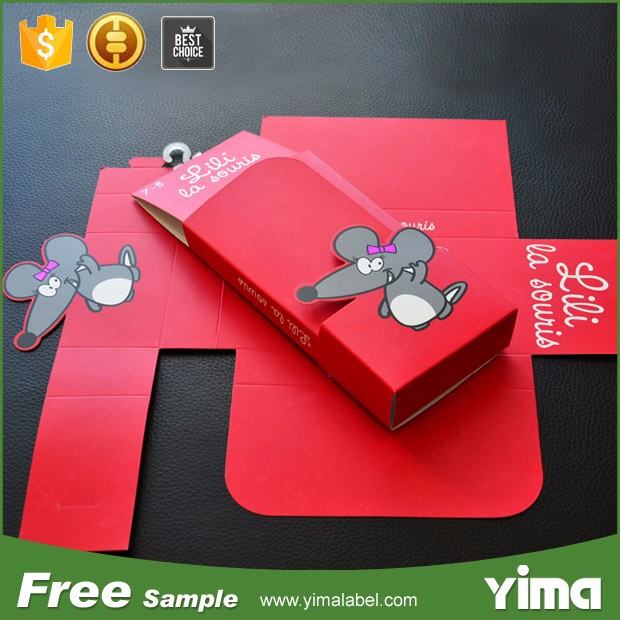 China wholesale custom socks packing box label tags for socks with hook