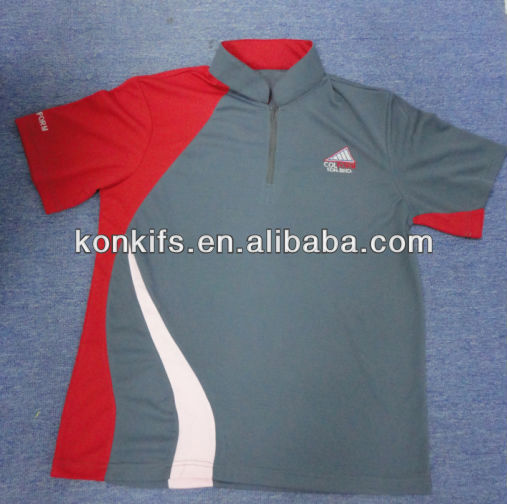 comfortable golf polo collar t shirts sports